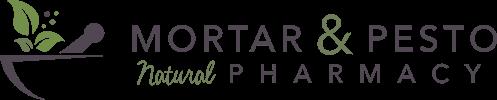 Mortar & Pesto – Natural Pharmacy in Red Deer Logo